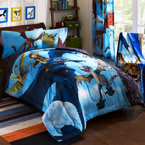 How to train your dragon juvenile bedding comforter walmart how to train your dragon juvenile bedding comforter ccuart Image collections