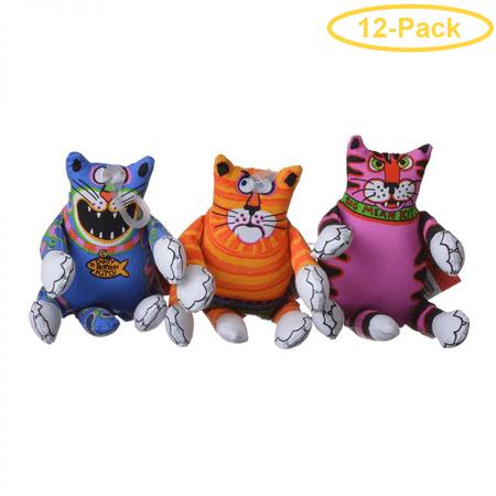 Fat Cat Mini Terrible Nasty Scaries - Assorted Terrible Nasty Scary - Mini - Pack of 12