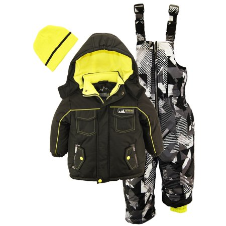 b92cd199d377 iXtreme - Ixtreme Little Boys Down Alternative Heavy Snowsuit Jacket ...