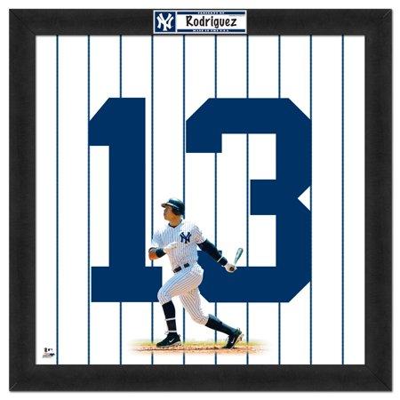 "New York Yankees Alex Rodriguez 20"" x 20"" Uniframe - No Size"