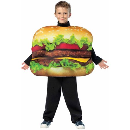 burger king and burger halloween costume value bundle