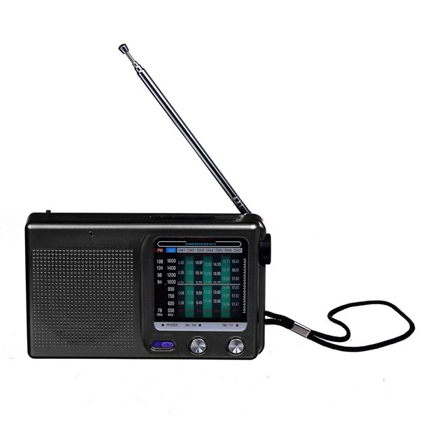 Mini Portable Radio Player with FM/MW/SW Stereo Radio Cassette Player Single Detachable Speakers Ideal For Old