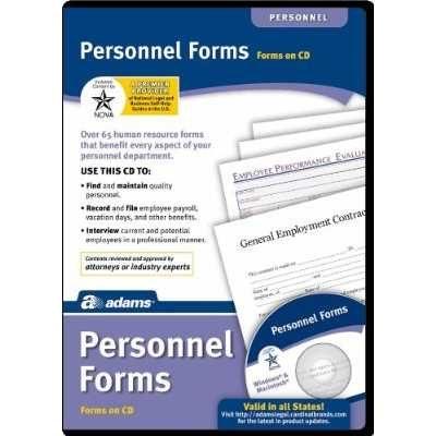 Personnel Forms - Box pack - 1 user - CD - Win, Mac - English