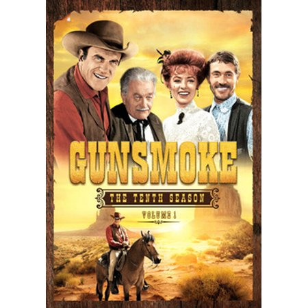 Gunsmoke: The Tenth Season, Volume 1 (DVD) (100 Floors Seasons Halloween Level 10)