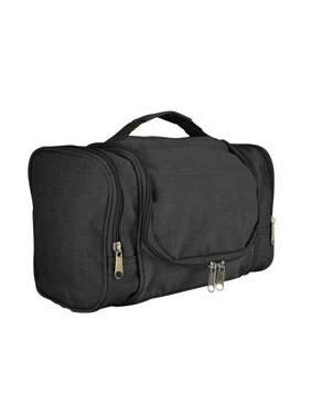Product Image DALIX Travel Toiletry Kit Accessories Bag Shave Cosemetics  Hanging Hook in Black 16018d2a0b