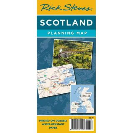 Rick steves scotland planning map : including edinburgh & glasgow city maps: 9781641711692 - Party City Map