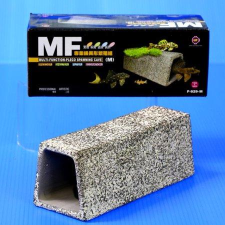 Pleco Spawning Cave Ceramic M Size- Cichlid Moss Aquarium Fish Tank Decoration