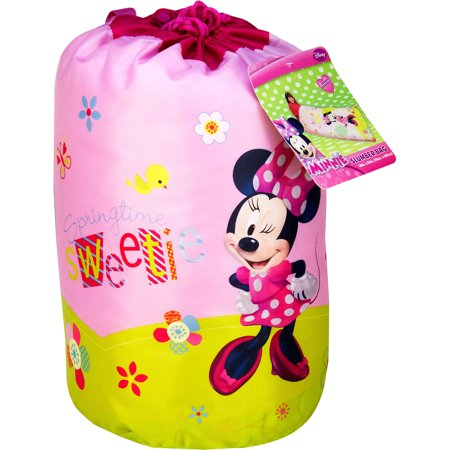 Disney Minnie Mouse Bowtique Garden Party Slumber Bag