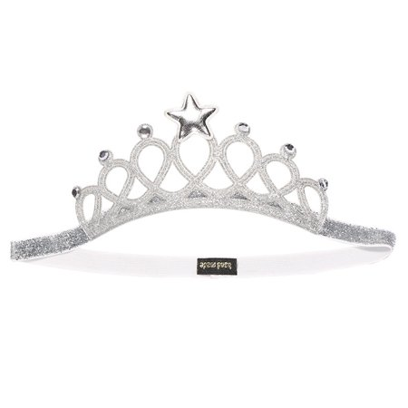 Baby Girls Crown Headbands Hollow Out Glitter Rhinestone Tiara Crown Princess Birthday Wedding Party Headpiece - image 2 de 5