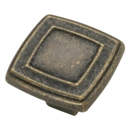 Hickory Hardware Corinth Square Cabinet Knob