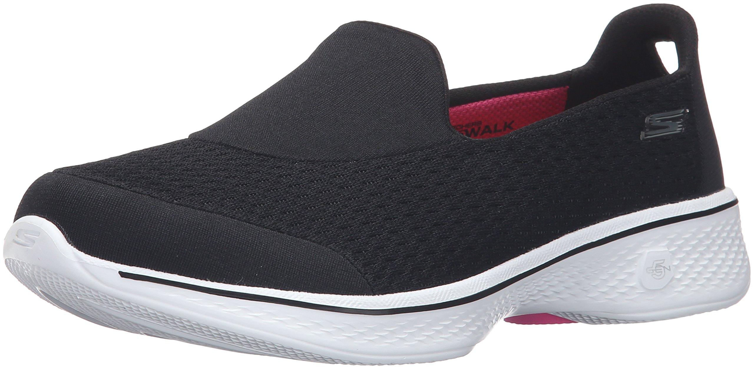 Skechers 14148BKW Women's GOWALK 4 PURSUIT Casual Shoes by Skechers