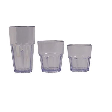 16 Oz Plastic Tumblers (16 Oz. BPA-Free Break-Resistant Plastic Havana Tumblers, 12)