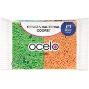 O-Cel-O, MMM7274FD, StayFresh Sponges, 4 / Pack, Assorted