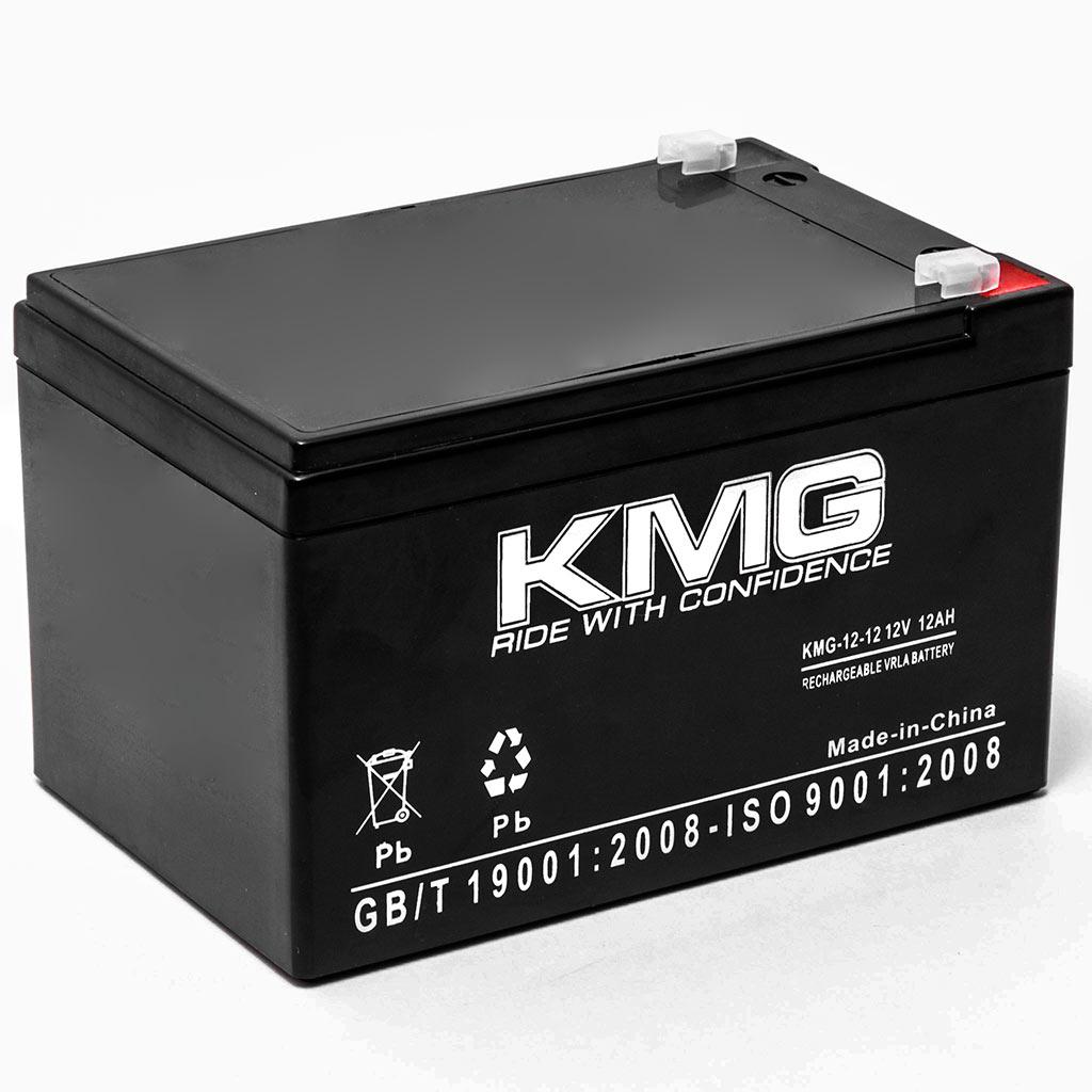 KMG 12V 12Ah Replacement Battery for B & B Battery BP12-12 BP12-12T2 BPL12-12