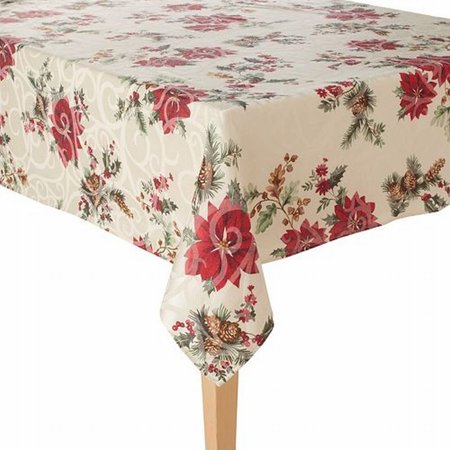 Juniper Berry Christmas Tablecloth Fabric Table Cloth 60x84 Ob, polyester By Food Network](Food Network Halloween Wars Cast)