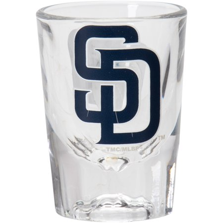 - San Diego Padres 2oz. Fluted Collector Shot Glass - No Size