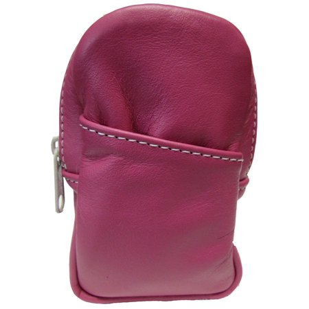 Soft Leather Cigarette Case Made in the USA, Pink ()