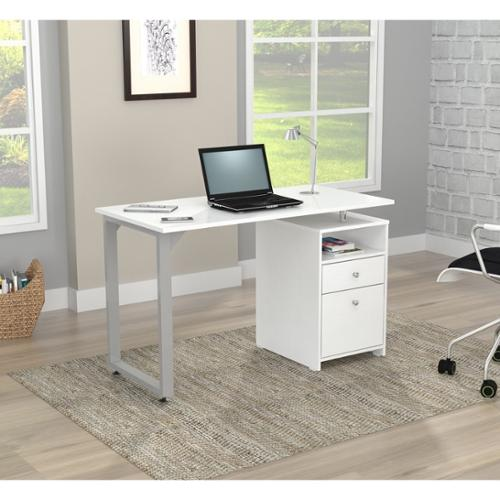 Inval America LLC Inval Larcinia White Writing Desk