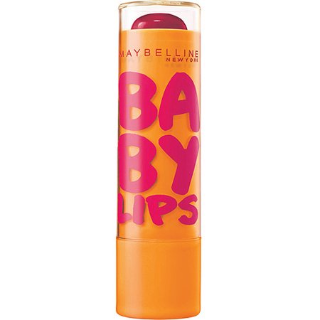 Maybelline Baby Lips Moisturizing Lip Balm, Cherry Me, 0.15 Oz