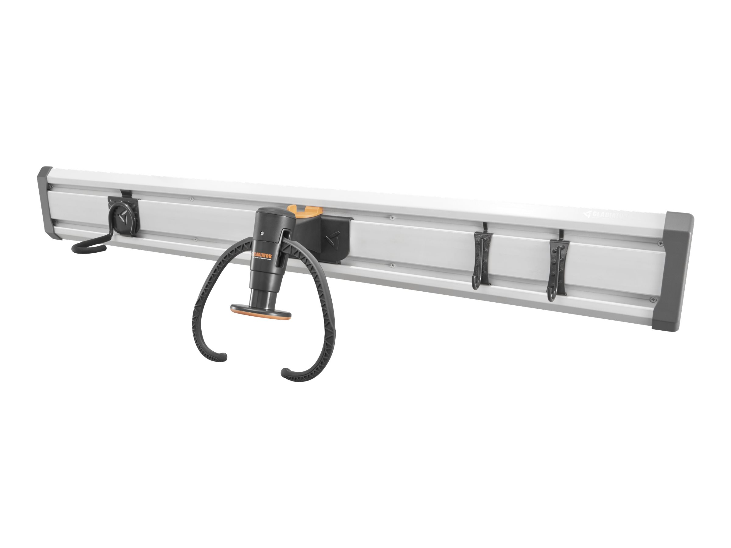 Gladiator Bike GearTrack Pack - Wall organization rail - gladiator gray