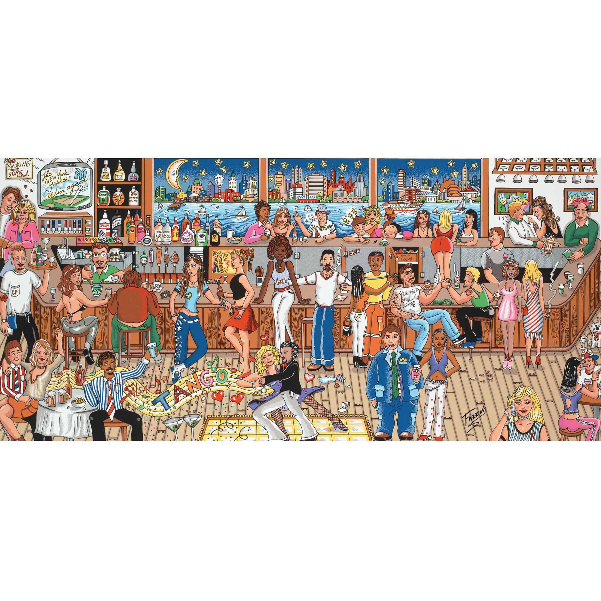 Generic Andrews+Blaine 1,000 - Piece Manhattans, Martini's and Moonlight Puzzle