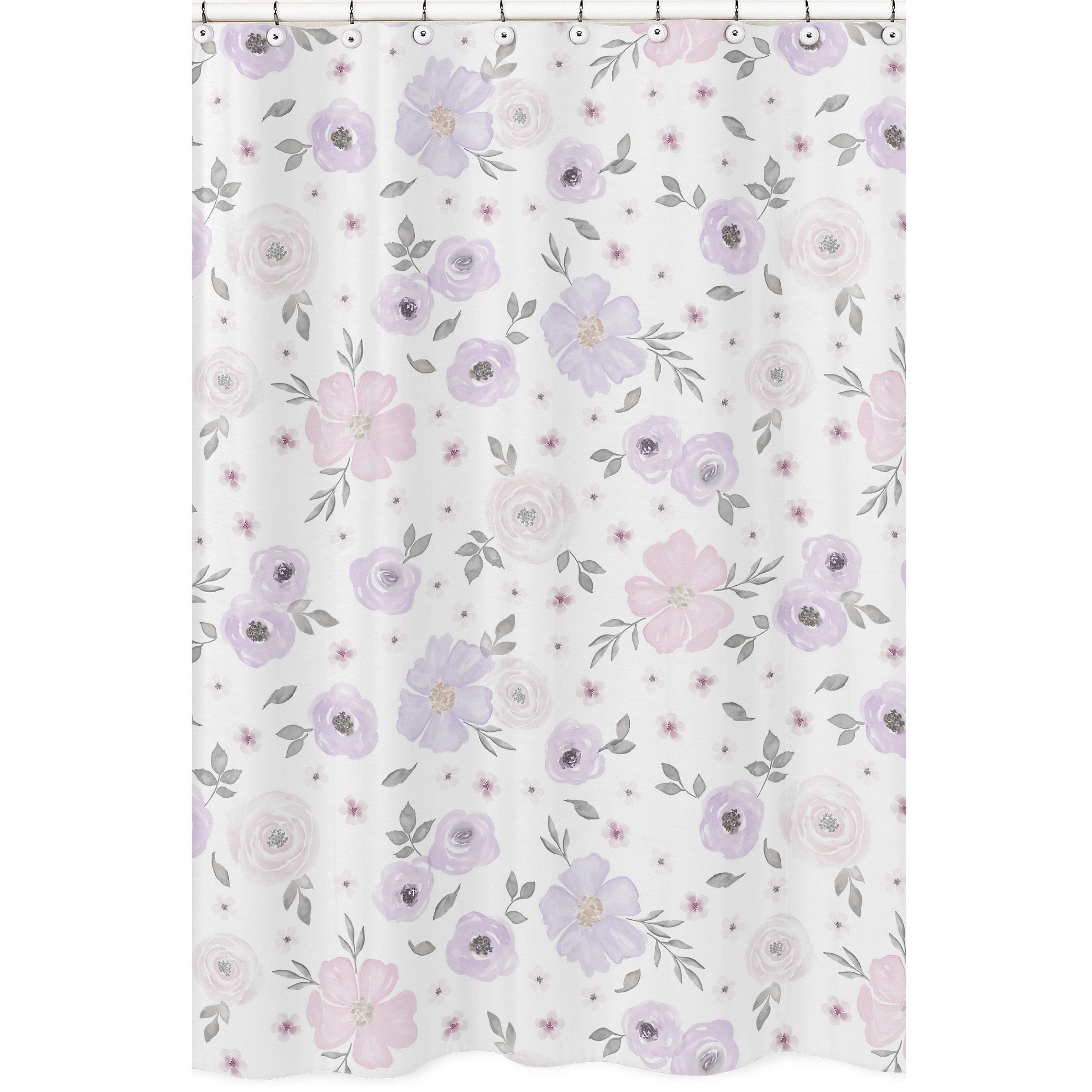 Keepsake Calico Cotton Fabric -Watercolor Pink Purple