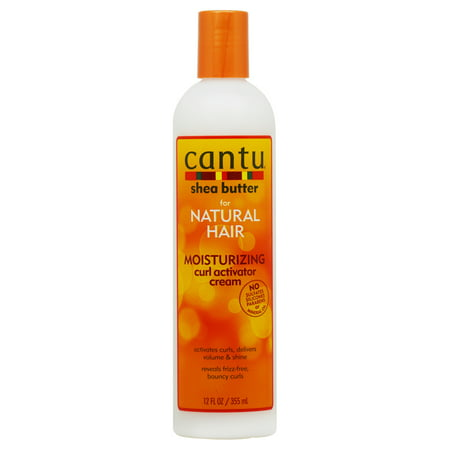 Cantu Shea Butter for Natural Hair Moisturizing Curl Activator Cream 12 fl. - Creme Activator