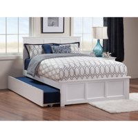 Atlantic Furniture Madison Full Platform Bed with Trundle