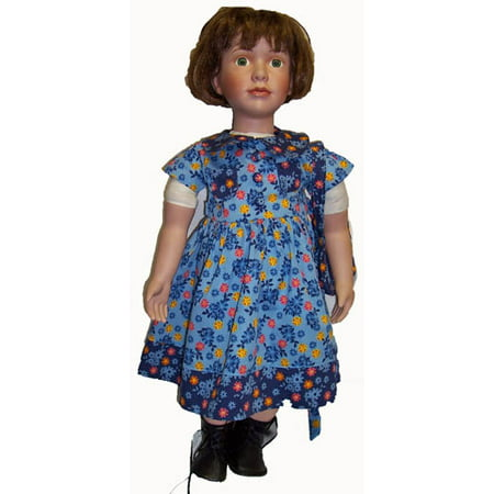 My Twin Doll Blue Flower Dress with Purse