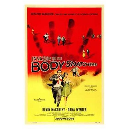 Posterazzi MOV142656 Invasion of the Body Snatchers Movie Poster - 11 x 17 in. - image 1 de 1