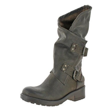 Shift Motorcycle Boots - Womens Alida Mid-Calf Pull On Motorcycle Boots