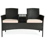 Outdoor Rattan Furniture Wicker Conversation Chair