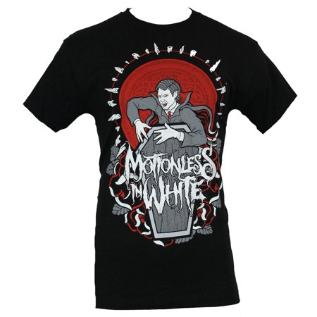 Motionless in White Mens T-Shirt  - Awkening Vampire Circled By Teeth Image](Vampire Clothes For Men)