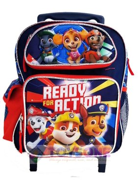 "Paw Patrol 12"" Roller Backpack TODDLER- 3-5YRS"