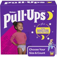 Pull-Ups Girls' Night-Time Training Pants (Choose Size and Count)