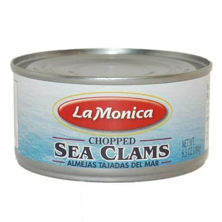 Chopped Sea Clams (LaMonica) 6.5oz (184g) (Small Clam)