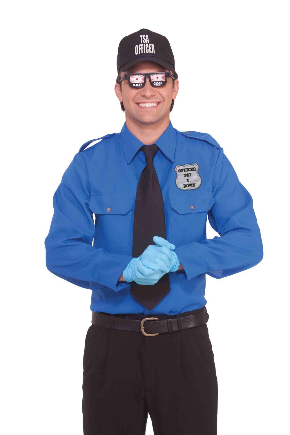 tsa transportation security officer funny adult costume walmartcom