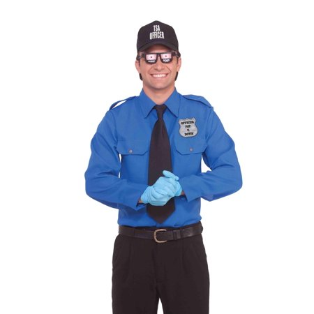 tsa transportation security officer funny adult costume