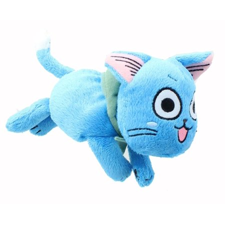 Plush - Fairy Tail - Happy Lie Prone Posture Toys 6