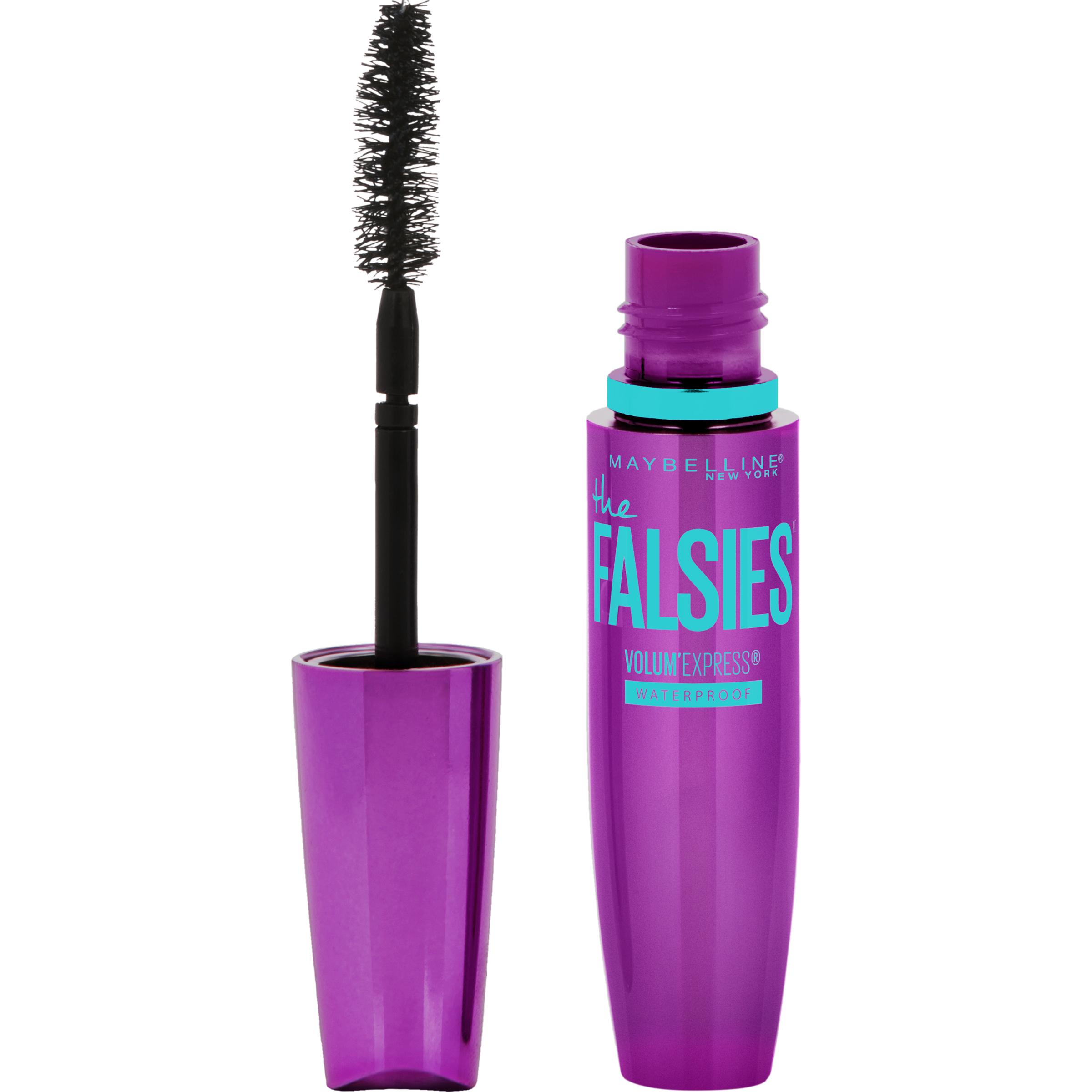 Maybelline The Falsies Waterproof Mascara Makeup, Very Black, 0.25 fl. oz.