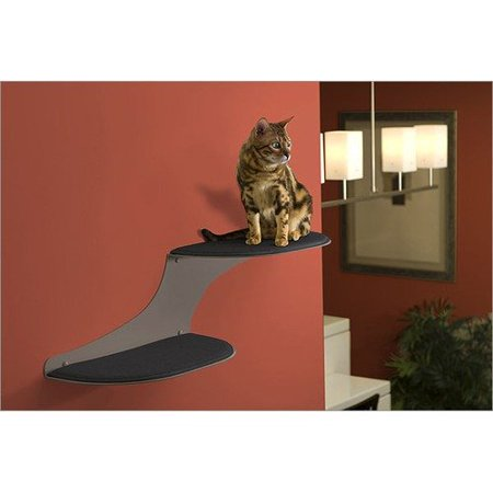 The Refined Feline Cat Clouds Wall Mounted Cat Bed In