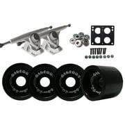 Randal 180 LONGBOARD TRUCKS 68mm BIGFOOT BLACK Wheels