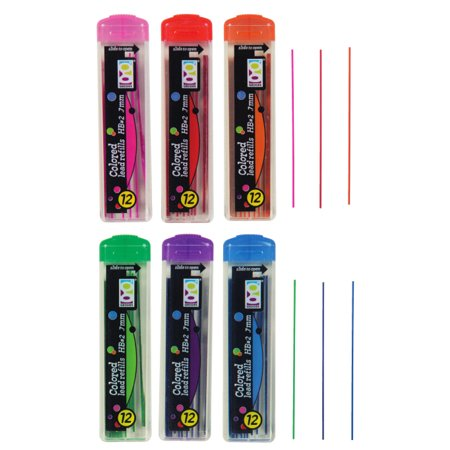 .7MM COLORED LEAD REFILL 24/BX