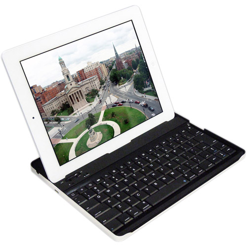 Cirago All-in-One Aluminum Bluetooth Keyboard Case for iPad 2/3/4