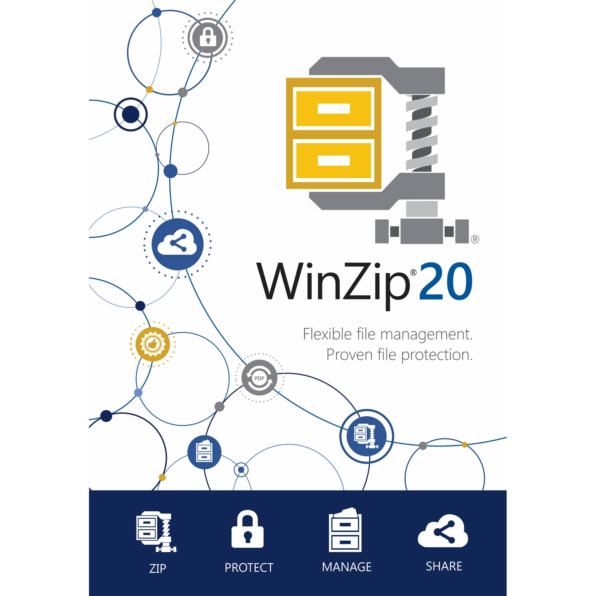 Corel ESDWZ20STDML WinZip 20 Standard, Single User (Email Delivery)