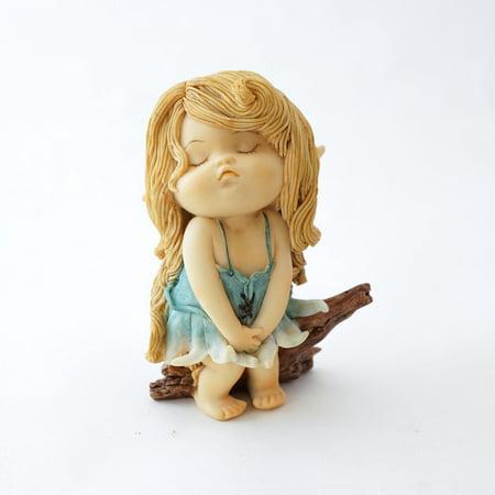 Top Collection Miniature Fairy Garden Sassy Little Fairy - Miniature Collection 5 Piece