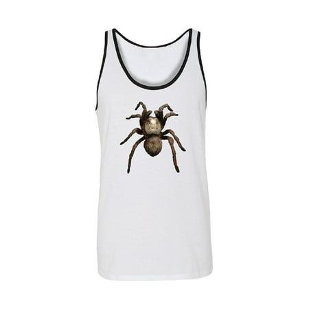 3D Spider - Tarantula Animals Men's Tank Top Venom Black -