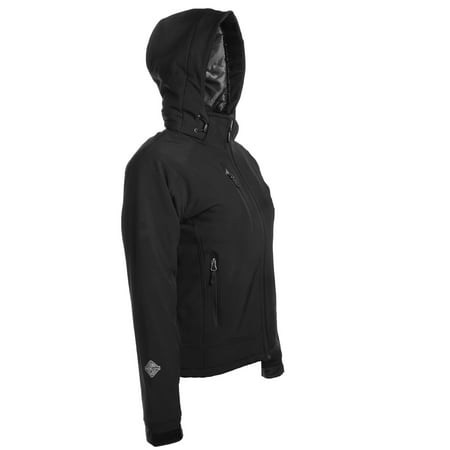 da0f0b9ab Stormtech - Stormtech H2XTREME Women's Waterproof Softshell Winter Jacket  with Hood Black Thermal Coat for Women - Walmart.com