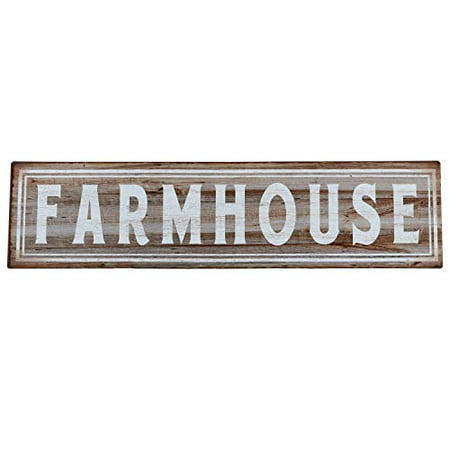Farm Sign (Barnyard Designs Farmhouse Retro Vintage Tin Bar Sign Country Home Decor 15.75