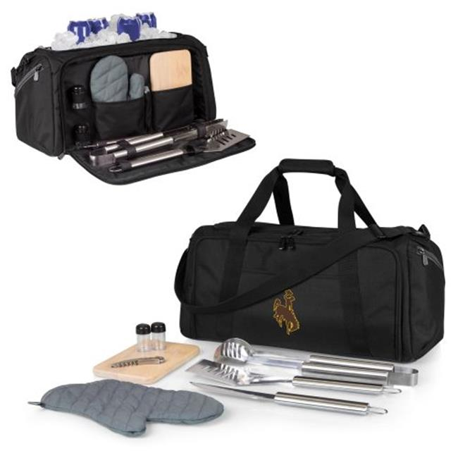Wyoming Cowboys - BBQ Kit Cooler by Picnic Time